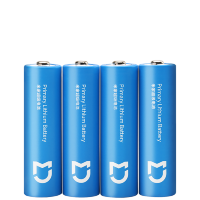 Батарейки Xiaomi Mijia Super Battery 2900 mAh AA (4 шт.) Синие